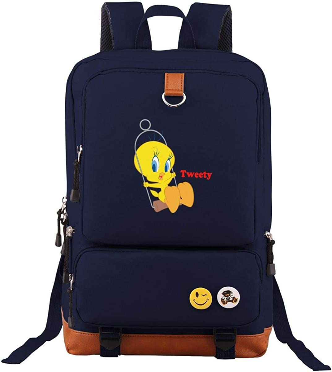 Mountain Tweety Bird Outdoor Fitness Travel Leisure Customized 17 Inch Backpack