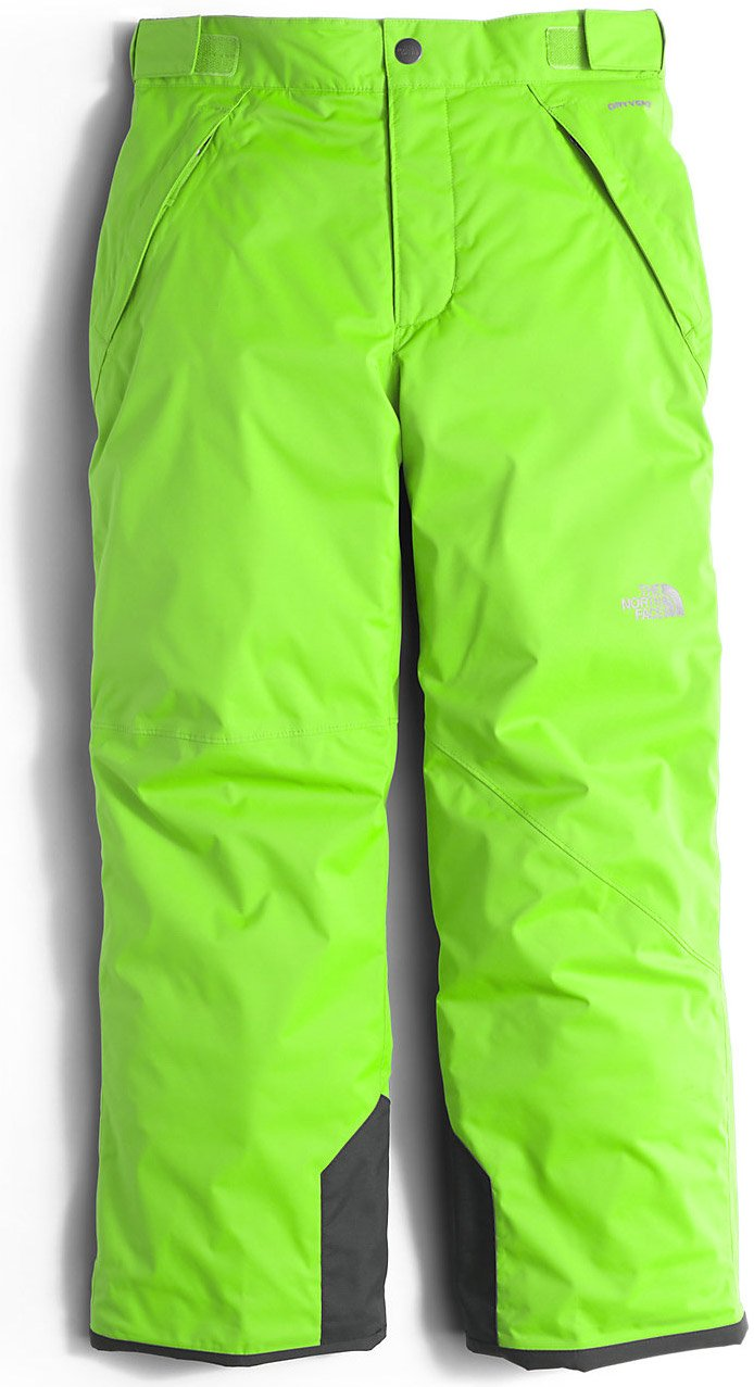 The North Face Freedom Insulated Pant Boys' Safety Green X-Small