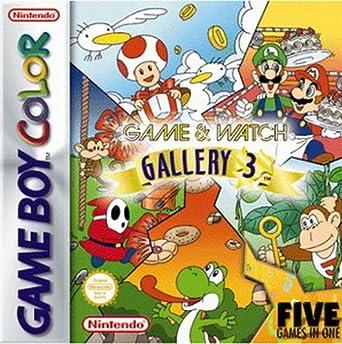 Game Watch Gallery 3 Nintendo Game Boy Color Amazon De Games