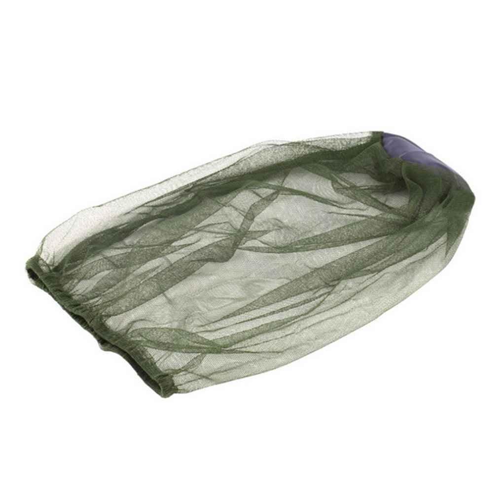 Morza Midge zanzara dellinsetto dellinsetto Cappello Camping Mesh Head Net Viso Protector Viaggi