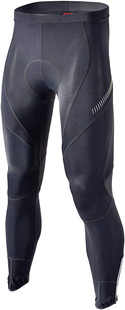 RION Men's Cycling Pants Bike Padded Bicycle Tights: Clothing