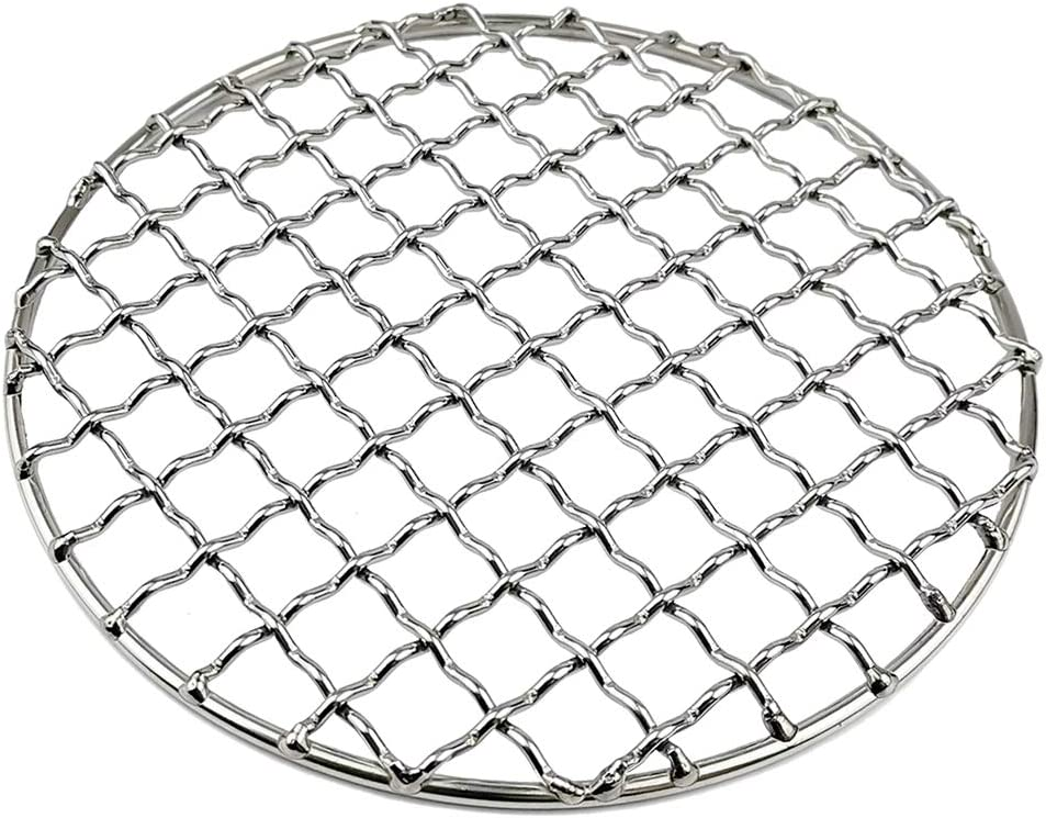 Stainless Steel Baking Cooking Grilling Sheet Non-Stick Mats for Camping Hiking Picnic Fishing Outdoors Perfeclan BBQ Accessories Grill Rack