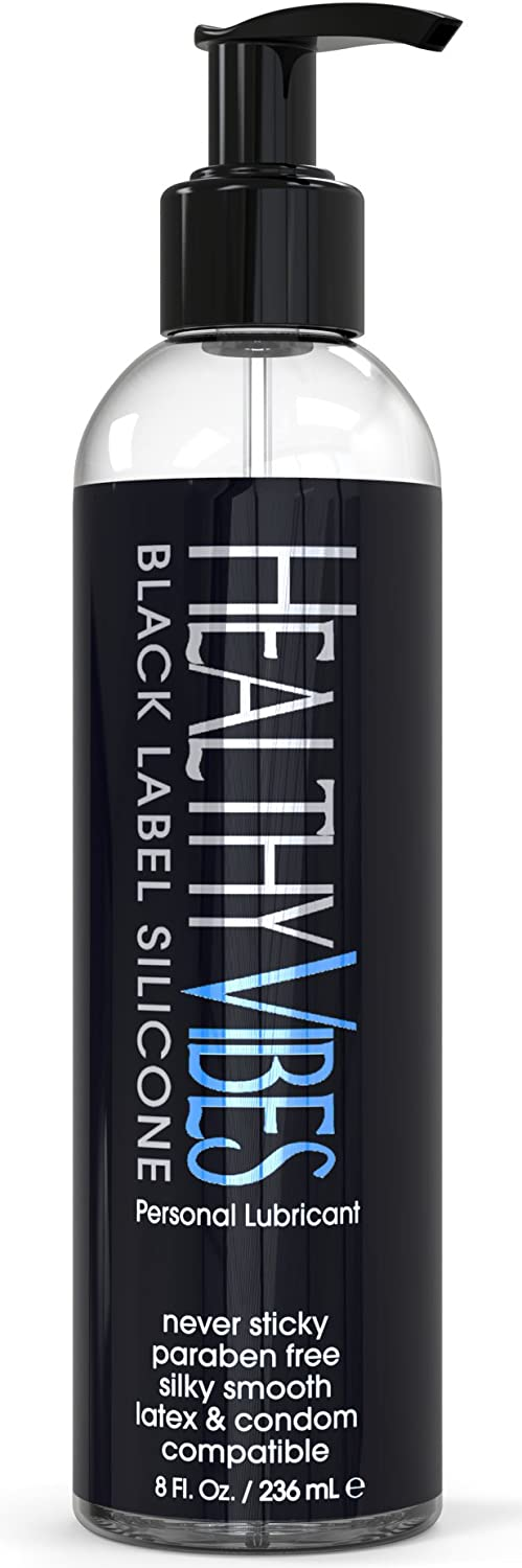 Healthy Vibes Black Label Silicone Lubricant