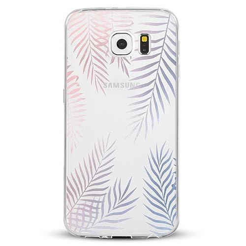 vanki Samsung Galaxy S7/S7 Edge Funda, Protectiva Carcasa de Silicona de Gel TPU Transparente Ultra ...
