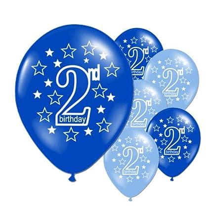 10 Unids Bebé 2 Años Globos de Cumpleaños, Bebé Feliz ...