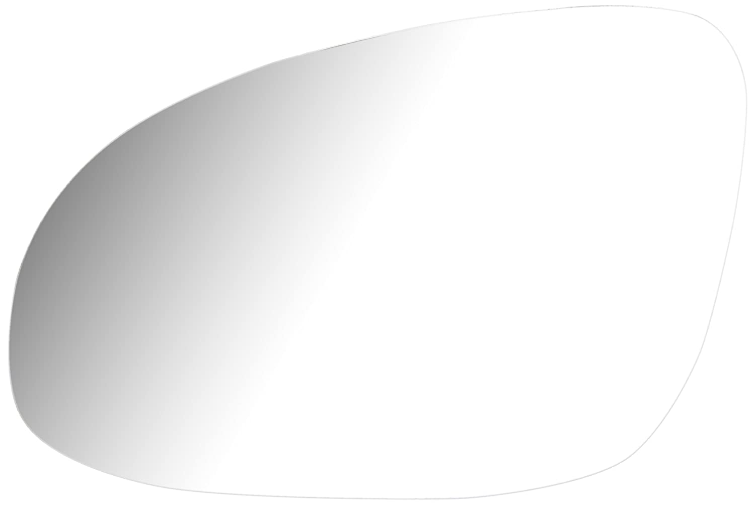 Cora 3391049 Left-Hand Wing Mirror with Fastening Plate, Chrome Finish CO.RA. SPA