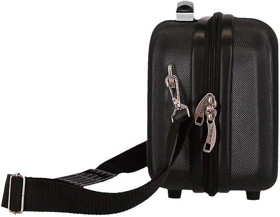 Movom Riga Black ABS Adaptable Beauty Case