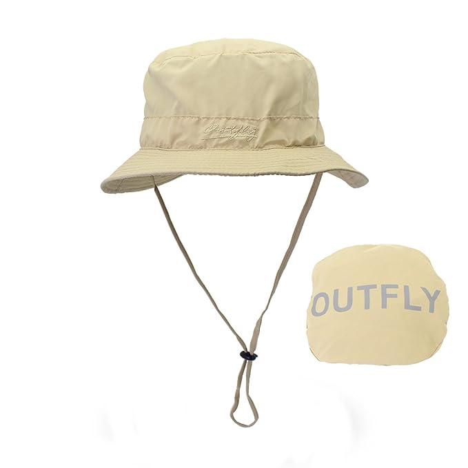 LAOWWO Gorro de Pescador - Sombrero de Sol de Cubo Sombrero de ala Ancha  UPF50 + para Hombres y Mujeres  Amazon.es  Ropa y accesorios e7b16a404ae