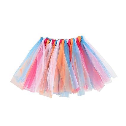 Falda de Tul para niña de Saingace, Falda Plisada, Falda de Ballet ...