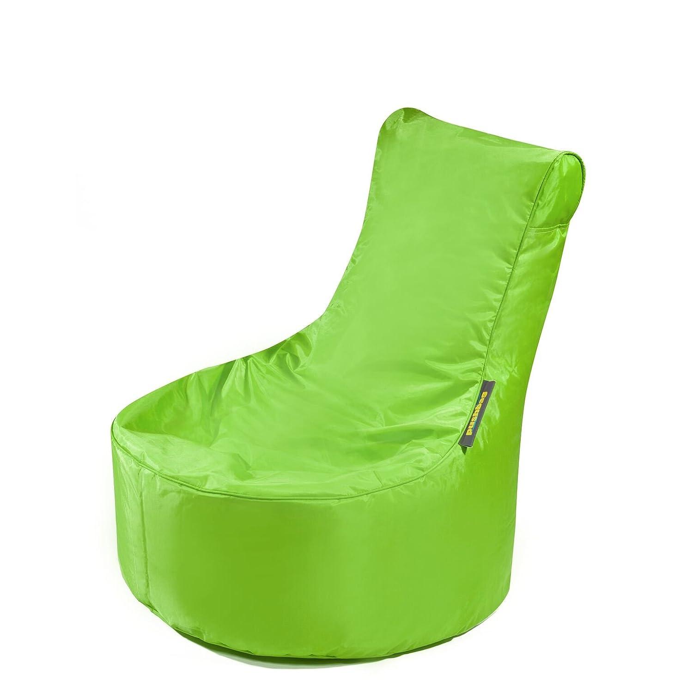 Pushbag Kinder Sitzsack Seat XS Oxford Sessel Kindersessel Kinderzimmer Lounge Kinderzimmermöbel modern ausgefallen Kindersitzsack bunt (Lime)