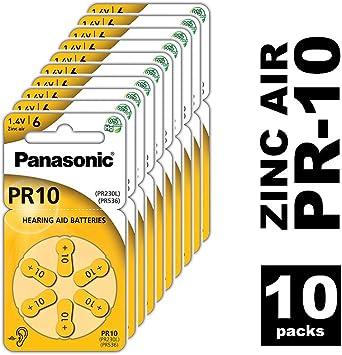 Panasonic 070614.17 batería acústica, Blister de 6 Unidades ...