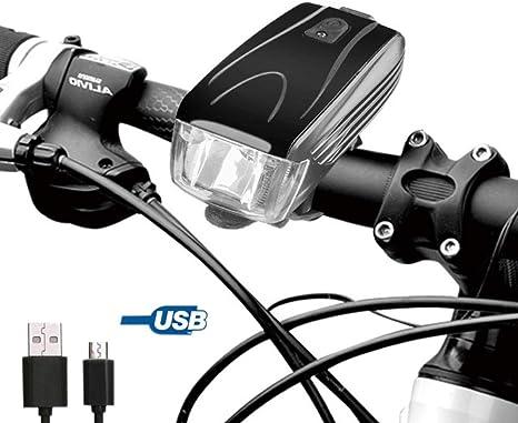VASTFIRE Juego de luces para bicicleta, linterna de luz para ciclismo, impermeable, luz LED para la