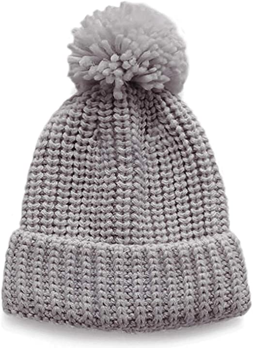 Toddlers Newborn Infant Caps 0-2T Baby Hats Solid Ear Hat Cotton Knitted Beanies