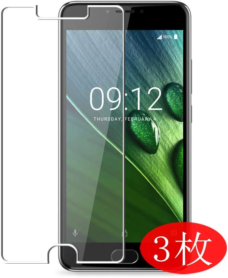 【3 Pack】 Synvy Screen Protector for Acer Liquid Z6 Plus TPU Flexible HD Film Protective Protectors [Not Tempered Glass]