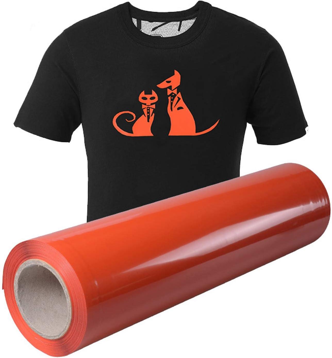 Migaven Paquet de Vinyle /à Repasser /à Transfert de Chaleur Htv de 24 Feuilles avec Des Pincettes pour Bricolage T-Shirts Textile V/êtements 8 X 11 Pouces Couleurs Al/éatoires