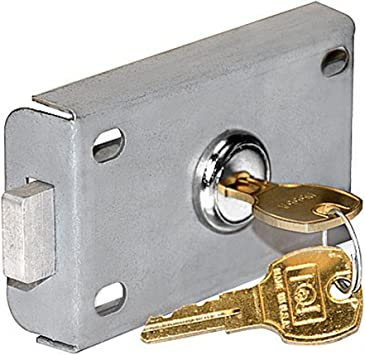 Salsbury Industries 2246 Replacement Commercial Lock for Letter Box//Receptacle with 2 Keys