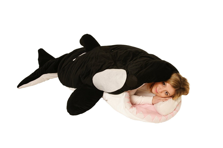Shark Pillow Sleeping Bag Interior Design