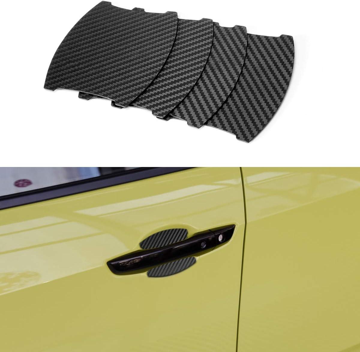 Mling Auto Magnetisch Türgriffmulde Schutz Kratzfest Türgriffmulde Abdeckung 4 Stück Kompatibel Für Civic Auto
