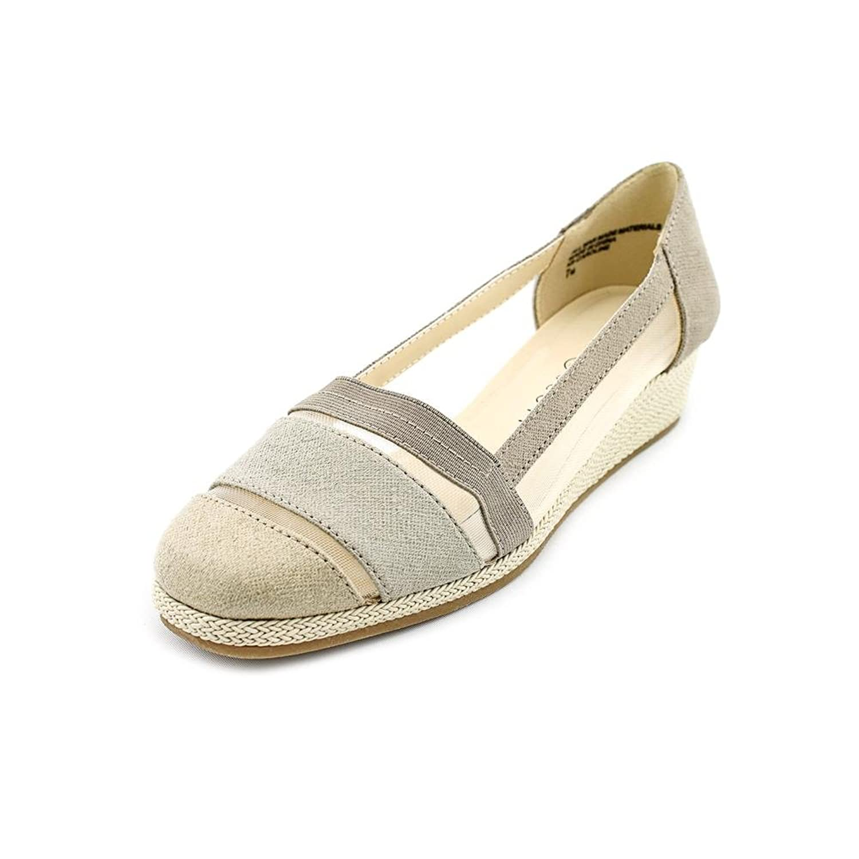 Karen Scott Caroline Synthetic Loafer, Grey, Size 7.0