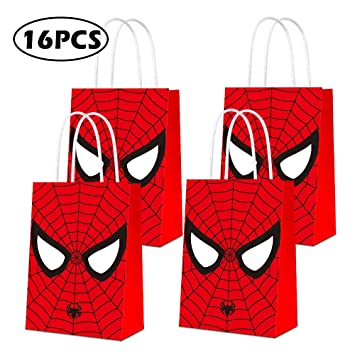 Amazon.com: Bolsas de fiesta para Spiderman, bolsas de ...