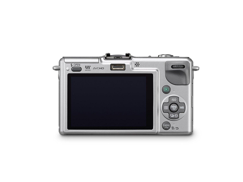 Panasonic Lumix DMC-GF2 Digital Micro Four Thirds Camera Body (International Model No Warranty) (Silver)