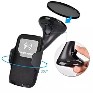 Baoblae Qi Wireless Charger Fast Wireless Charging Car