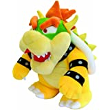Bowser Plush 10'' - Super Mario Bros Plushie Toy 10 Inch Tall PRIME