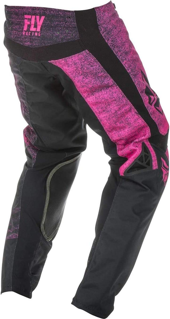 Fly Racing 2019 Youth Kinetic Pants Noiz 20 Neon Red//Black
