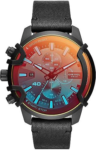 multiplo Organo digestivo mendicante  orologio cronografo uomo Diesel Griffed casual cod. DZ4519: Amazon.it:  Orologi