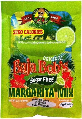 UPC 677304995013, Baja Bob's Margarita Cocktail Mix, Sugar Free & Low Carb - 48g Packet Makes 1/2 gallon