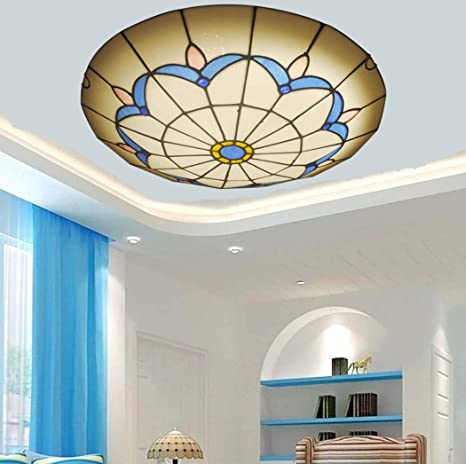 Luz de techo de montaje empotrado LED de estilo mediterráneo ...