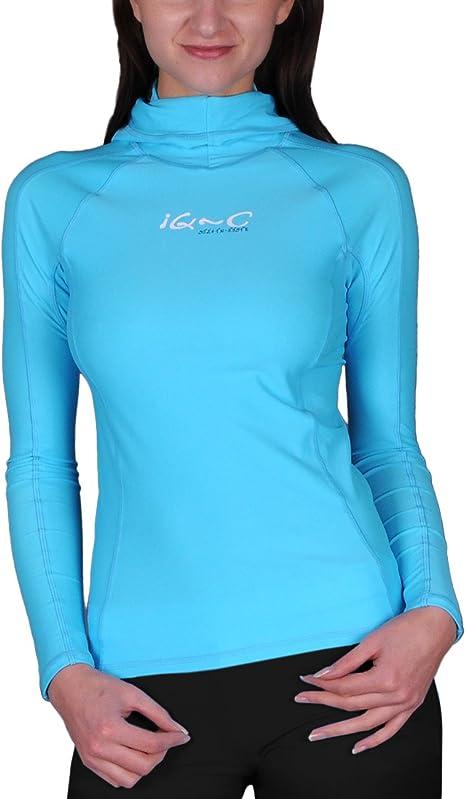 IQ UV 300 Kids Shirt Maniche Lunghe Protezione da Raggi UV Abbigliamento