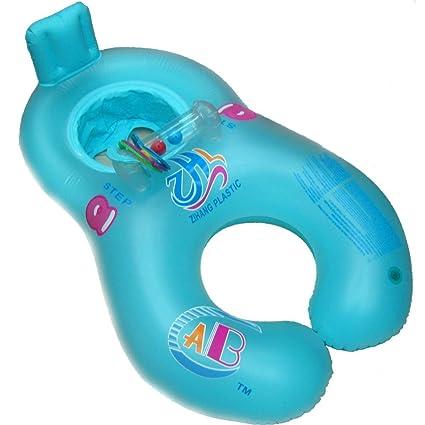 Artistic9 - Anillo Hinchable para bebé y Madre, Flotador para Piscina, Silla de bebé