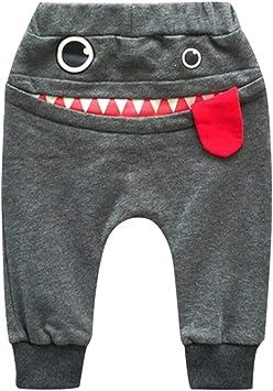 feiXIANG Ropa para niños bebé niño niña Caricatura tiburón Lengua Pantalones harén niños Ropa Casual nuevos Pantalones de chándal de Moda: Amazon.es: Electrónica