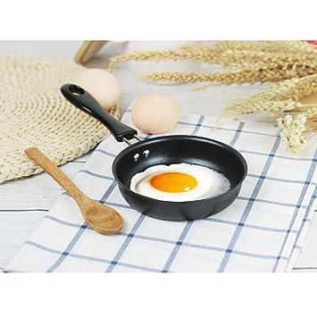 SM SunniMix Mini Sartén, Sartén Para Huevos, Sartén De Metal, Aperitivos De Exhibición, Postres O Huevos, Panqueques, Utensilios De Cocina Antiadherentes: ...