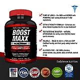 BoostMAXX-Male-Enhancement-Pills-Enhancing-Libido-Drive-Performance-Boost-Testosterone-Horny-Goat-Weed-Yohimbe-Maca-60-Pills-Herbal-Supplement-BioScience-Nutrition