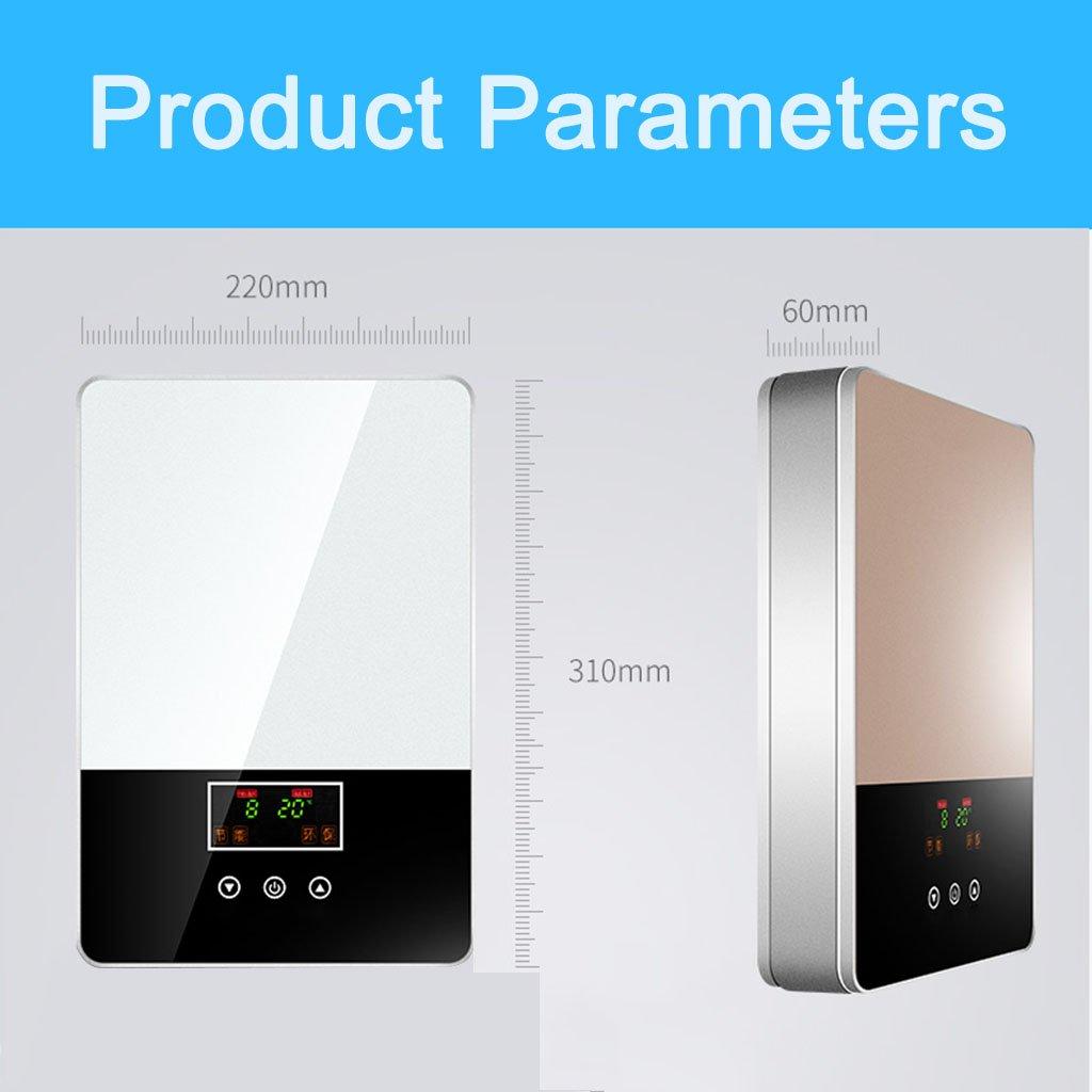 Calentador de agua eléctrico instantáneo, termóstato casero ...