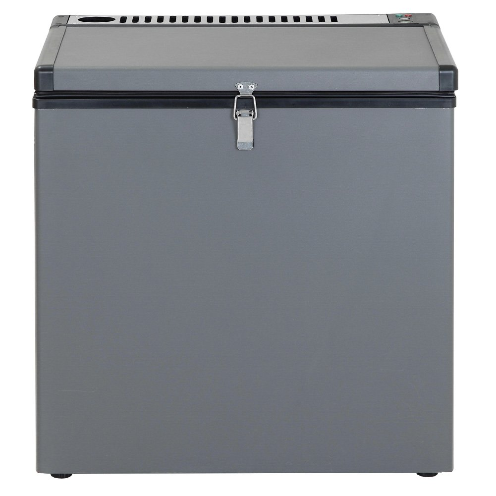 SMETA Electric LPG Propane Gas Absorption Chest Freezer with Single Door,2.4 Cu Ft,Black by SMETA (Image #1)