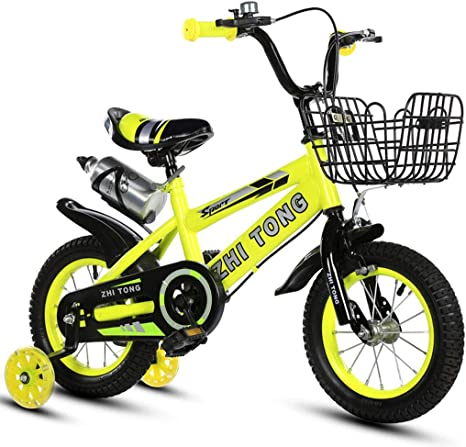 Angluooiuy Botella de Agua Bicicleta para niños para niñas Niños ...