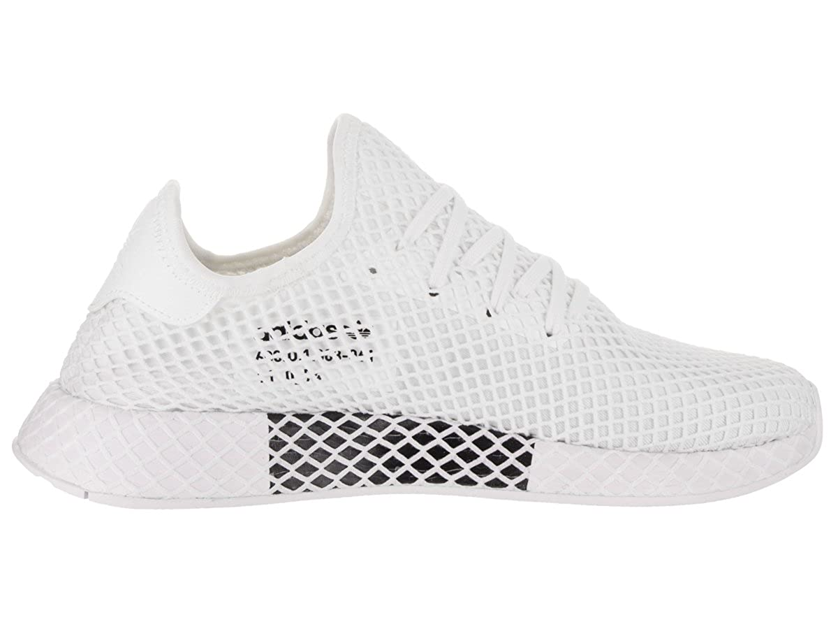 new style a9f4c 2badb Amazon.com   adidas Deerupt Runner Running White Running White Shoes CQ2625  Men   Running