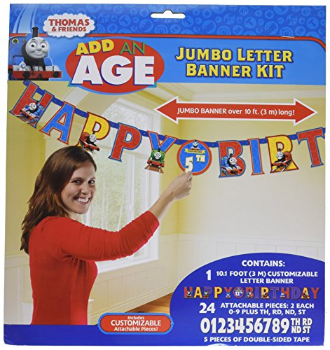 Thomas the Tank Letter Banner 10 Ft.]()