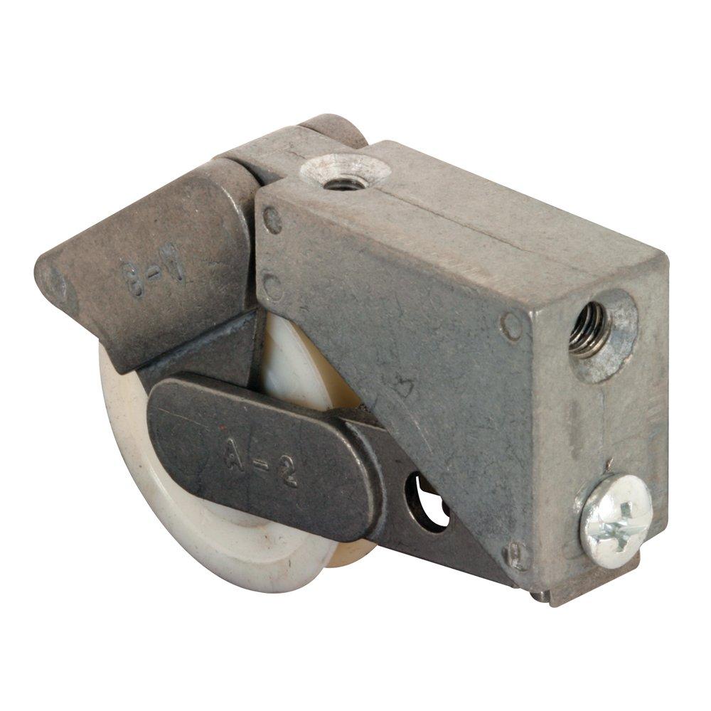 Slide-Co 132289 Sliding Door Roller Assembly with 1-1//4-Inch Nylon Ball Bearing