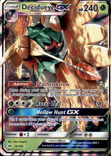 Decidueye-GX - 12/149 - Ultra Rare - Pokemon Sun & Moon from Pokemon