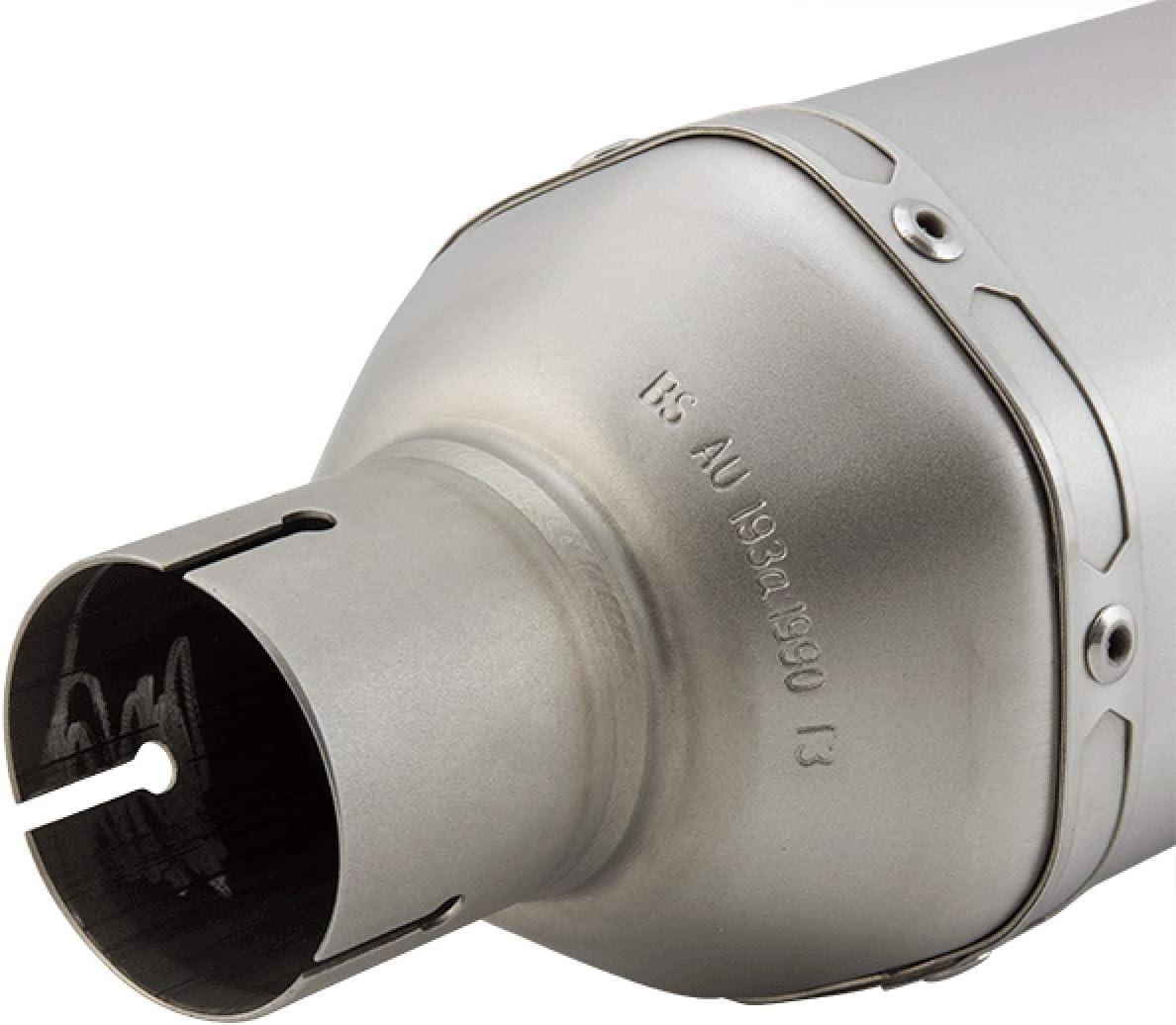 Lextek SP1 Matt S//Steel Hexagonal Exhaust Silencer 51mm