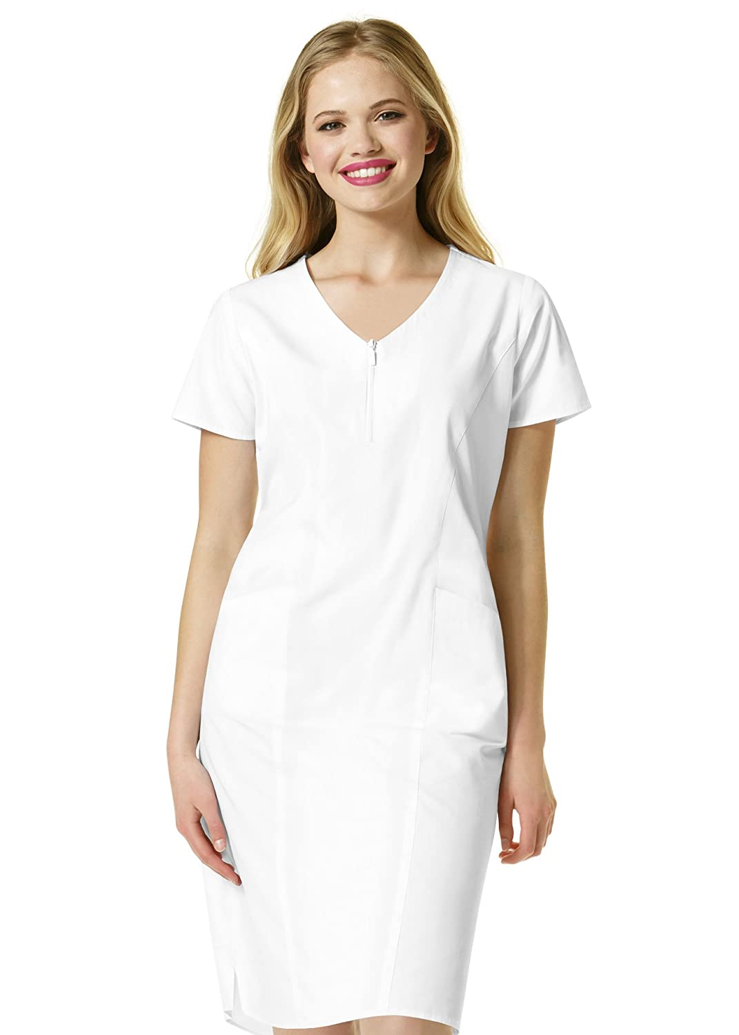 WonderWink Women's Zip Front Dress