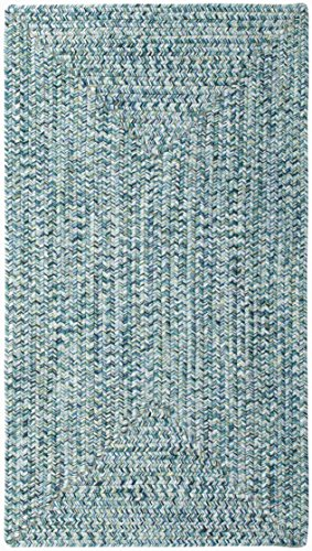 Capel Rugs Sea Pottery Rectangle Braided Runner, 2 x 8, - Braided All Weather Rug