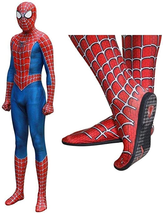 Disfraz De Spiderman Para Niños Disfraz 3D De Cuerpo Completo ...