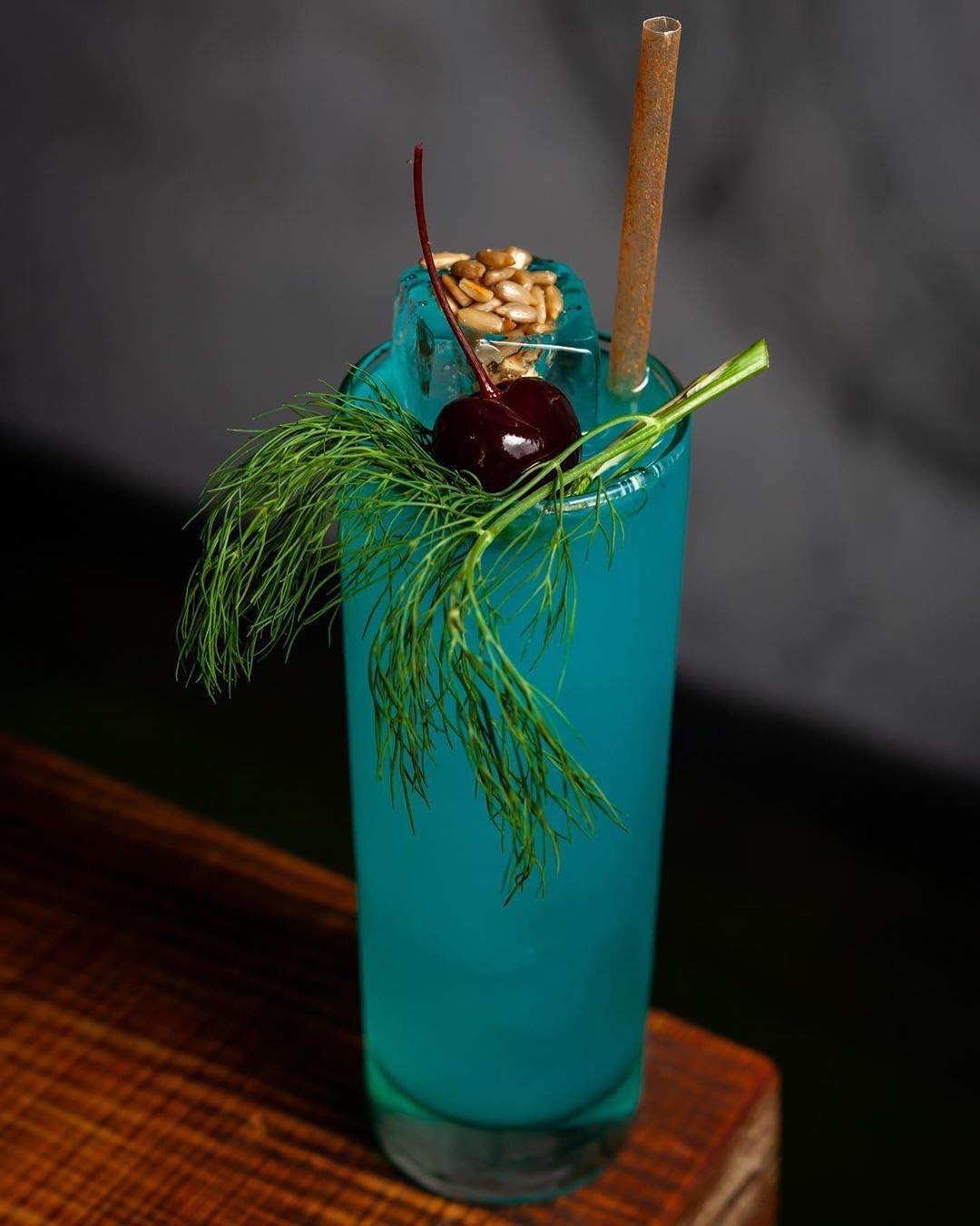pflanzlich 150 biologisch abbaubare Cocktail-Trinkhalme aus Agave umweltfreundlich Alternative zu Kunststoff-Trinkhalmen und Papier-Trinkhalmen BIO AGAVE