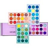 Paleta de sombras de ojos de 60 colores Set de paleta de maquillaje 4 in1 Color Board Altamente pigmentado Brillo…