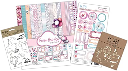 KIT de scrapbooking Girl from the sky: Amazon.es: Hogar